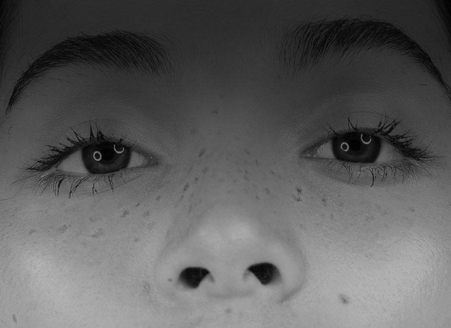Freckles pigmentation model 01