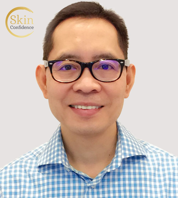 Dr Ronald Reyes, Skin Confidence Clinic staff, profile photo 01