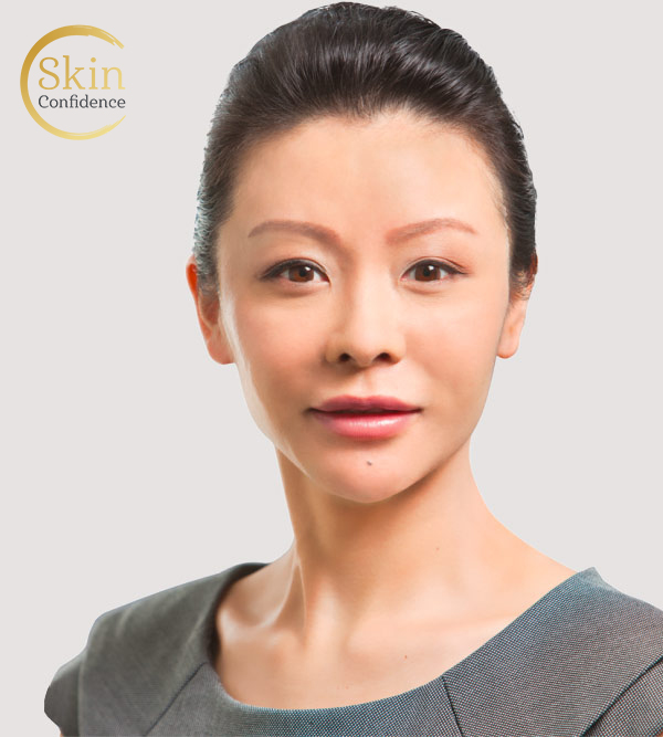 Dr Rose Niu, Skin Confidence Clinic staff, profile photo 01, our team featured